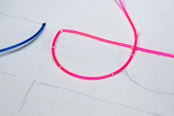 EL Wire Bending