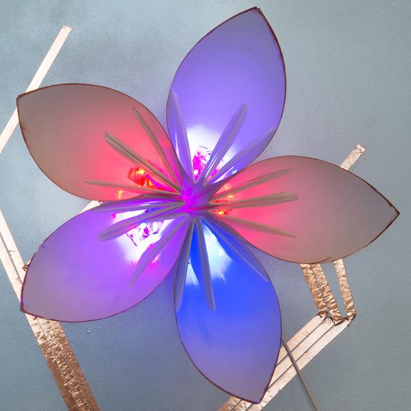 LIT Origami Kusudama Flower