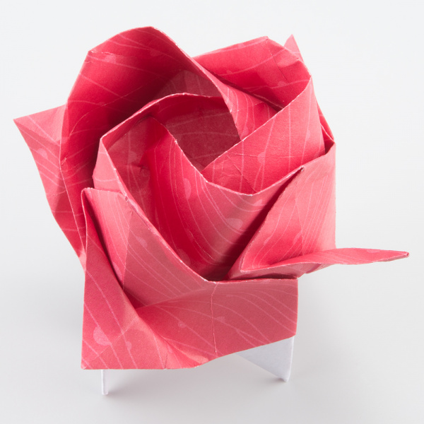 Origami Kawasaki Rose