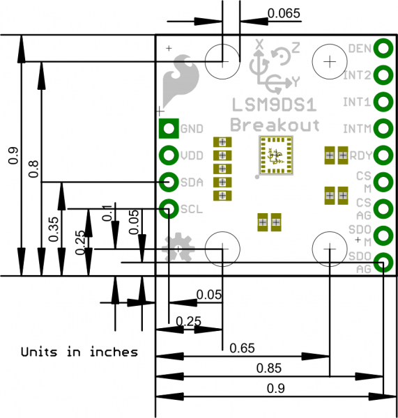 Lsm ds breakout hookup guide learn sparkfun