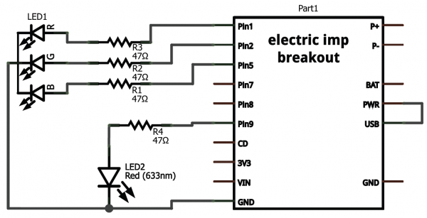 Schematic for example 2