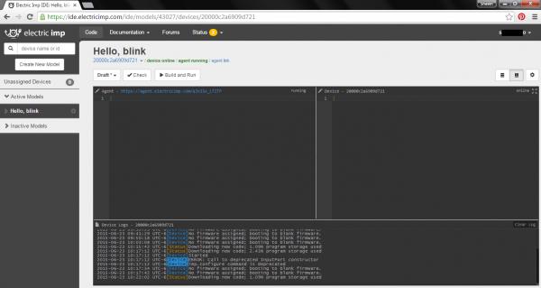 Blank imp IDE