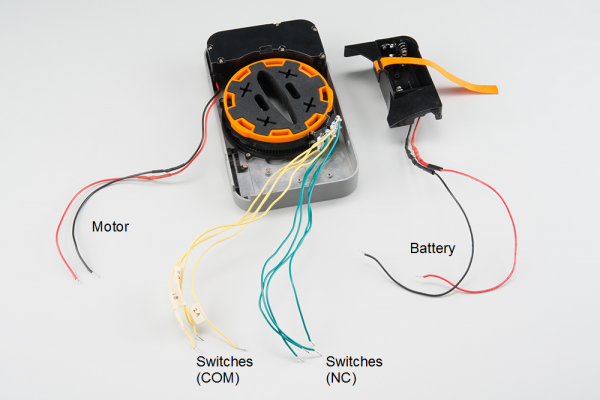 Lockitron annotated wires
