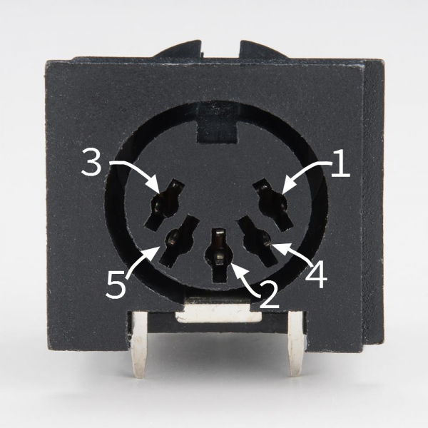 5-pin DIN Connector