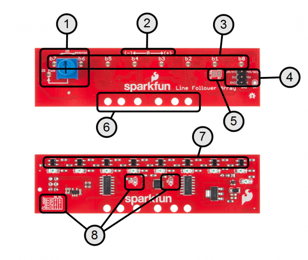 Sparkfun line follower array hookup guide learn