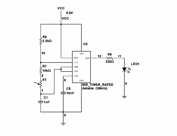 Squirrel Transmitter Circuit