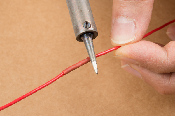 Heat Shrink and Soldering Iron