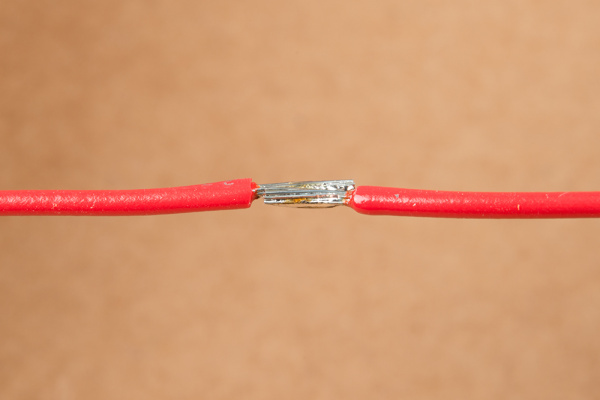Check the Underside of the Wire