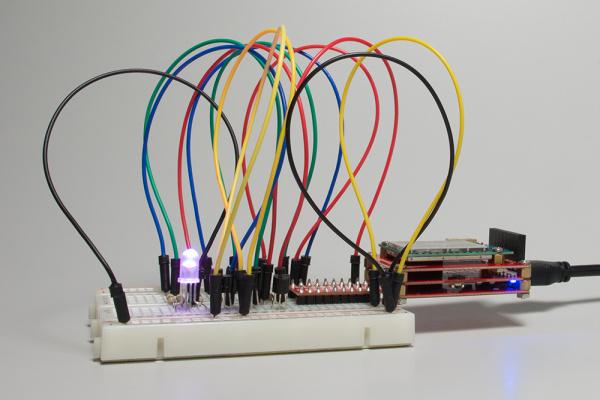RGB LED on Edison
