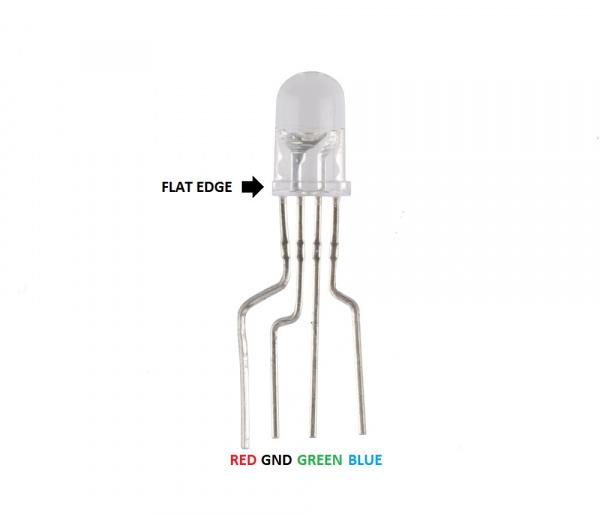 Common cathode RGB LED