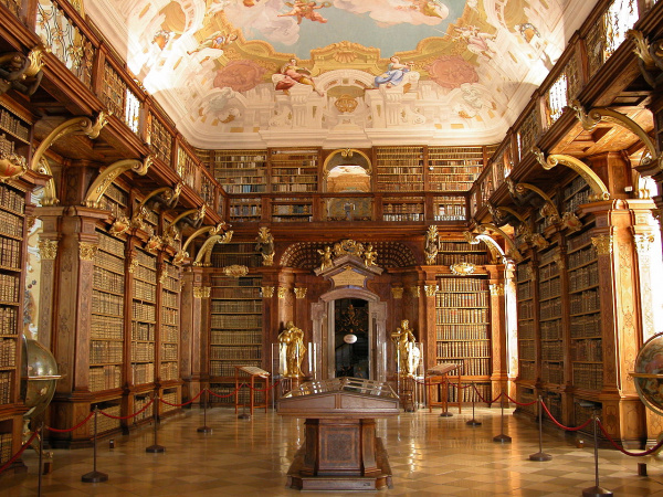 A particularly grand library