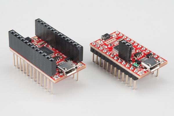 SAMD21 Mini Board assembled