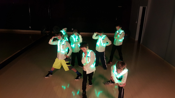 LED Dance Harness