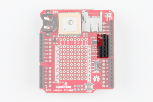 Female Headers Added to Software Serial and SPI Pins