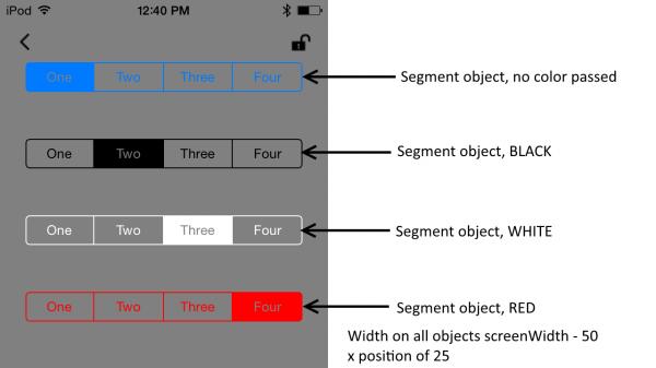 Segment examples