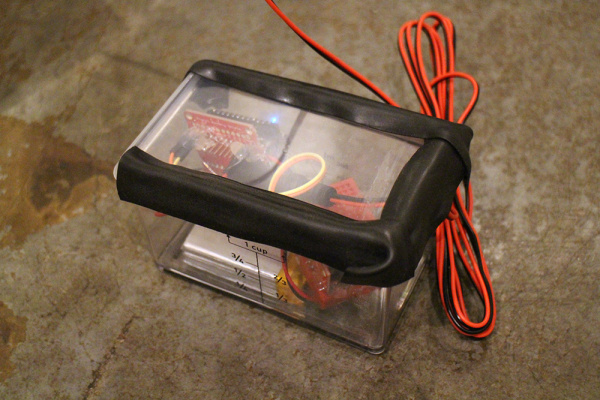 image of tupperware enclosure