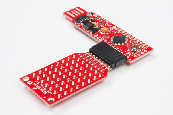 LED Array on the RedStick