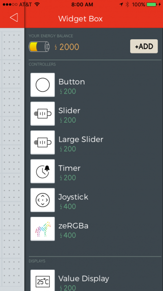 Blynk Widget box