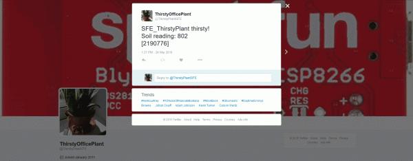 Example tweet