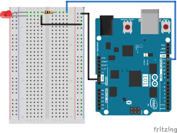 Exp 21 Fritzing Circuit
