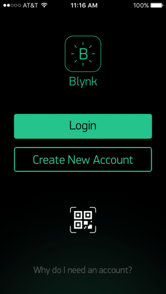 Bylink app login screen