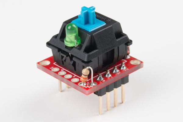 Resistor connected to board