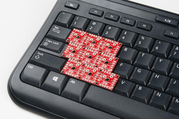 3x3 keyboard layout