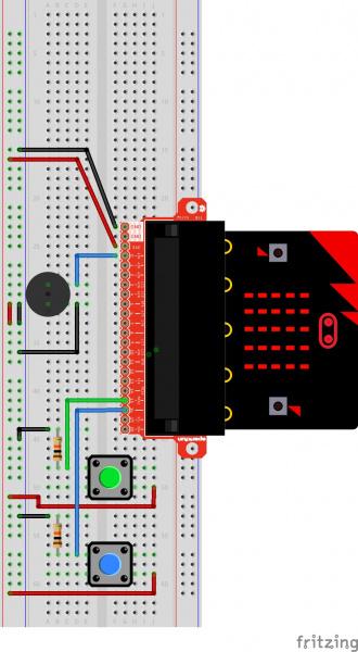 Fritzing Diagram: MicroPython micro:bit SIK Exp 9
