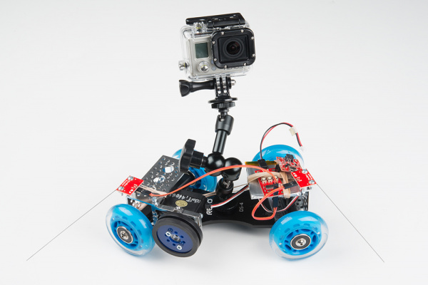 Continuous Rotation Servo Trigger in Automated Camera Dolly