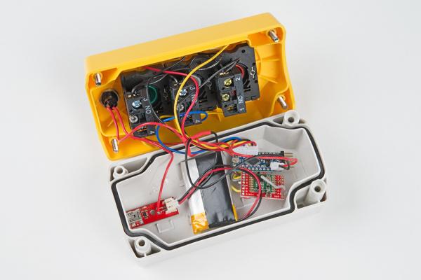 Remote control electronics