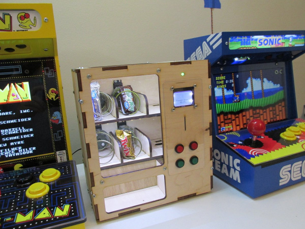 MiniCade and Vending Machines