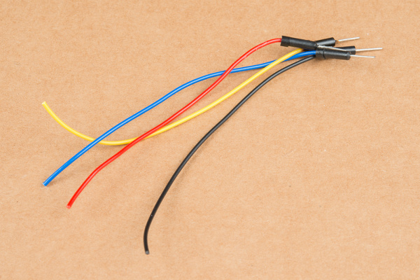 Cut jumper wires