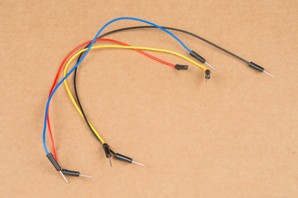 Four jumper wires