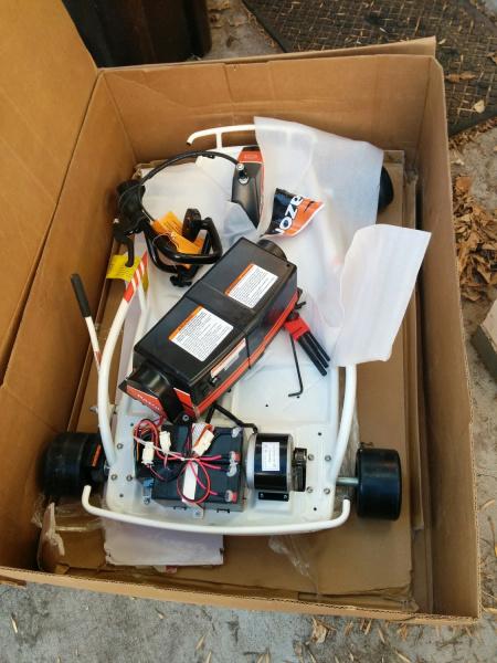 Razor Drifter in box