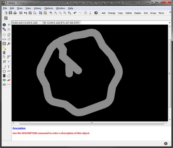 Import SVG to Eagle custom image