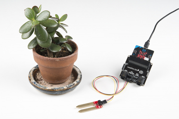 Exp3_FinalAssembly | moisture sensor and output