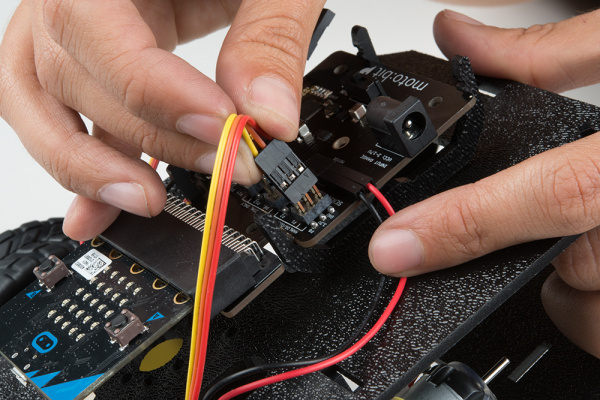 Hooking Up Line Sensors