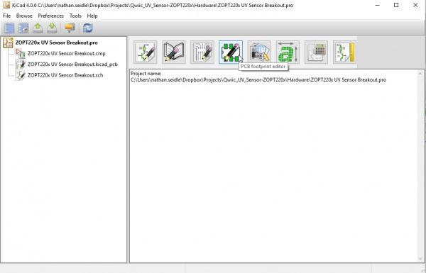 PCB Footprint Editor