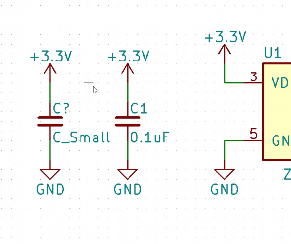 Connected Capacitor