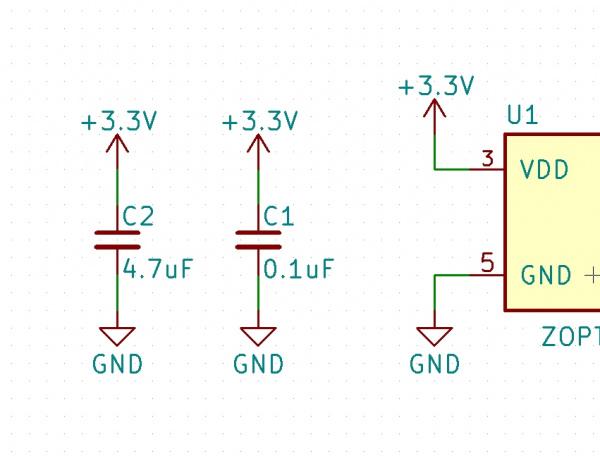 Updated Schematic Value and Designator