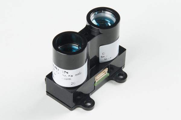 Front of LIDAR-Lite v3