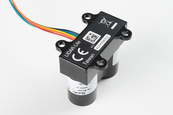 LIDAR-Lite v3的背面