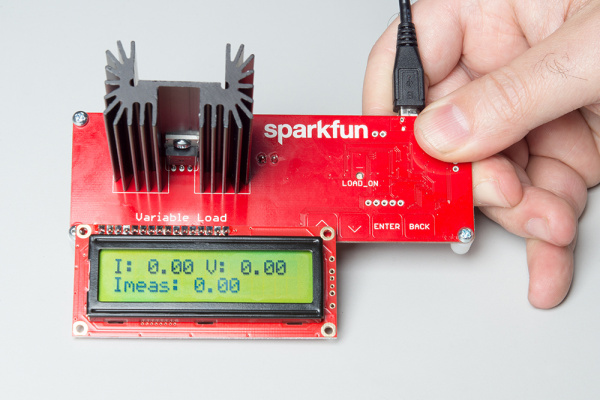 LCD Showing Output