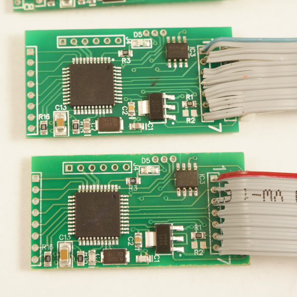 Gas pump skimmer ICs