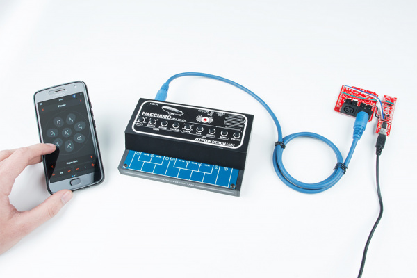 MIDI BLE Adapter with Smartphone