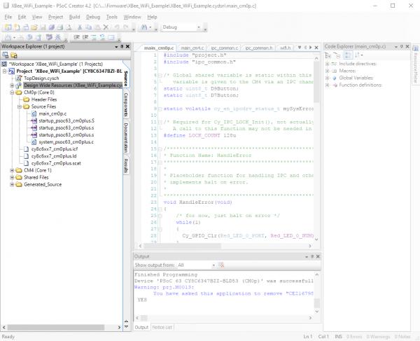 Cortex-M0+ files