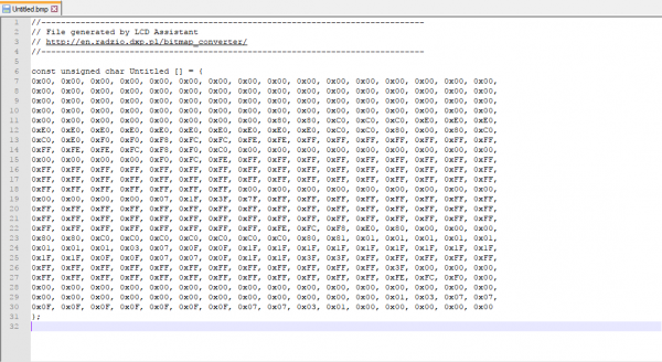 Generated Text File