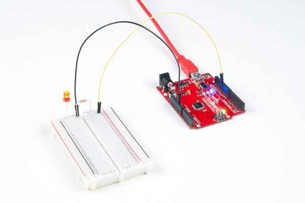 Tinker Kit Circuit 1 Demo