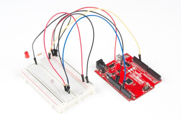 Tinker Kit Circuit 3 Photoresistor