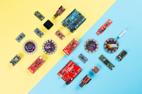 Smattering of Arduino Boards